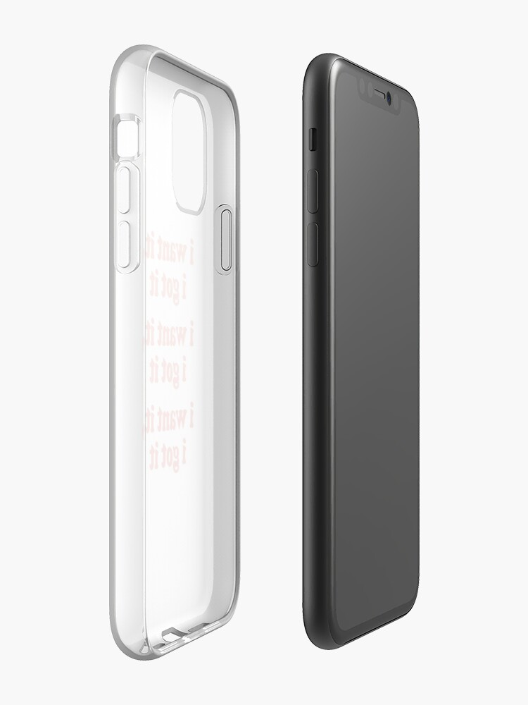 Alternate view of WANT iPhone Case & Cover