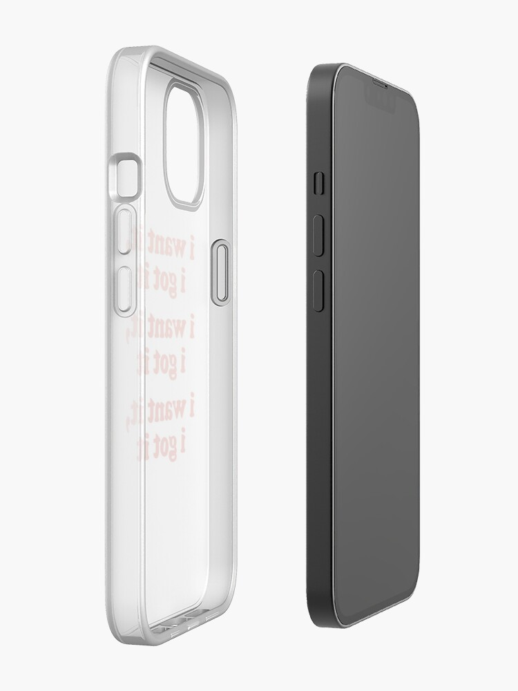 Alternate view of WANT iPhone Case