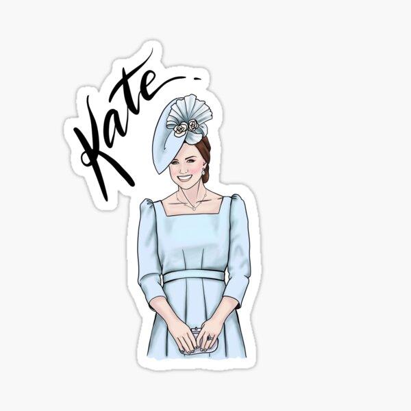 KATE by Silvana Arias Sticker