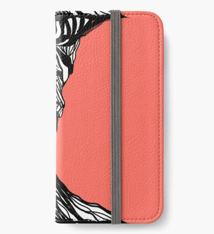 The woman within in living coral iPhone Wallet