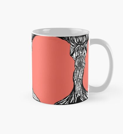 The woman within in living coral Mug