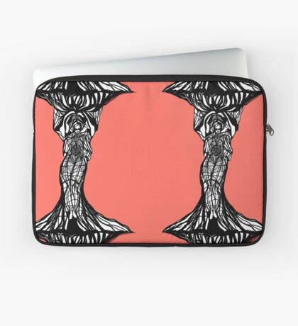 The woman within in living coral Laptop Sleeve