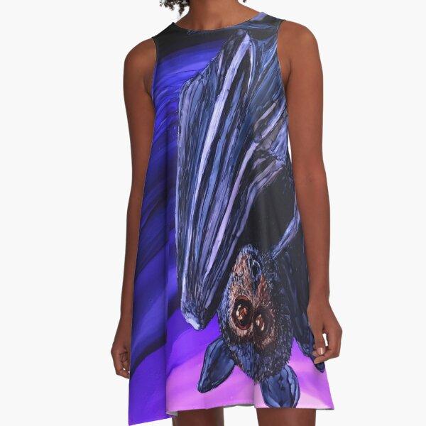 Vlad the Flying Fox Bat A-Line Dress