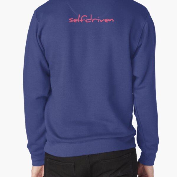 selfdriven pink Pullover Sweatshirt