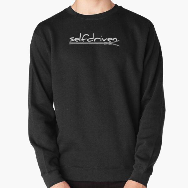 ZIPPER WHITE Pullover Sweatshirt
