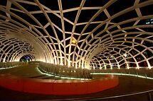 Webb Bridge, Docklands by Fiona Kersey