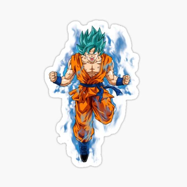 Super Saiyan Blue Goku Pegatina