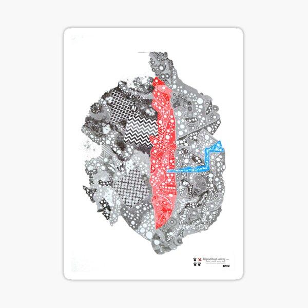 Carrickalinga Map Sticker