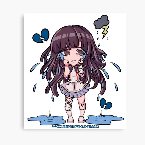 Mikan Cry Chibi By HotaruChan Lienzo