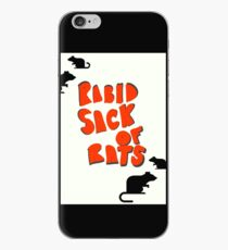 Rabid Sack Of Rats, Wheel of Misfortune  iPhone Case