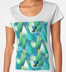 ZS AD Triángulos A01© Women's Premium T-Shirt