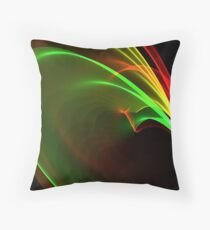 Red, Gold and Green Throw Pillow