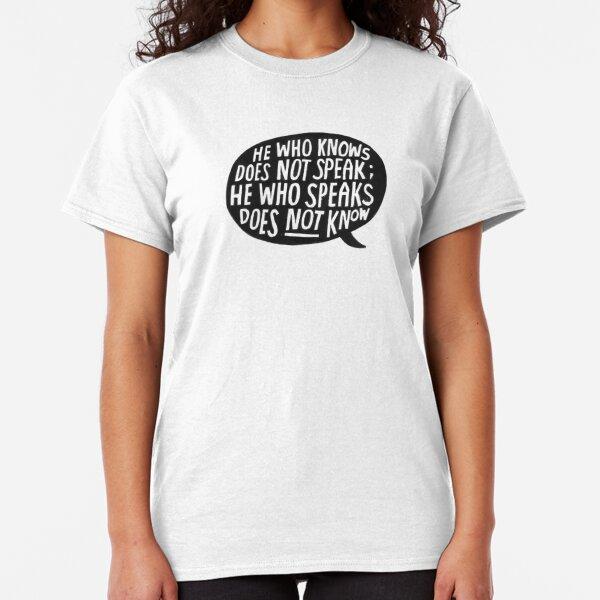 Lao-tzu Classic T-Shirt
