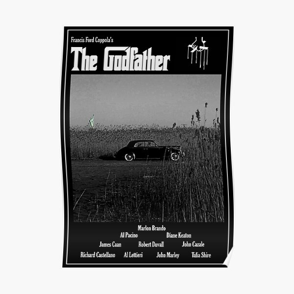 The Godfather Movie Poster Poster