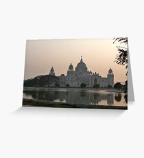 Victoria  Memorial, Calcutta, India Greeting Card