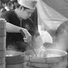 Hot Dumplings  by Frank Yuwono