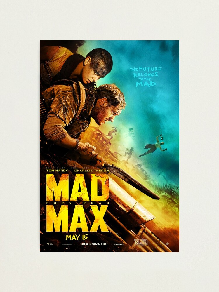 Tom Hardy Mad Max Giant Wall Art poster Print