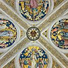 Ceiling in Vatican Museum by Phill Danze