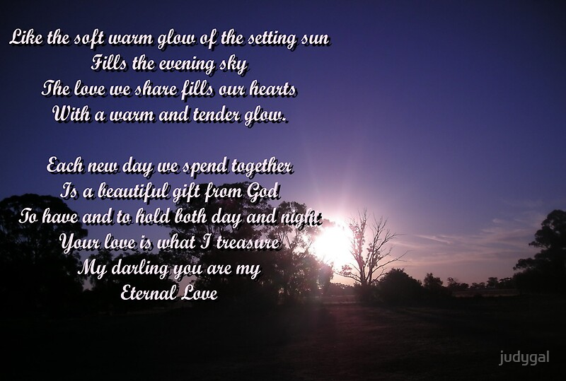 Quot My Eternal Love Quot By Judygal Redbubble