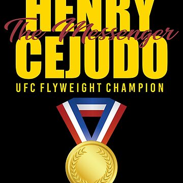 Henry Cejudo: The Messenger (Gold) by MillSociety