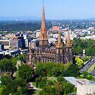 St Patrick's Cathedral, Melbourne by Derek Kan