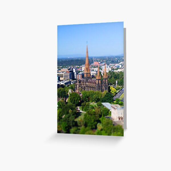 St Patrick's Cathedral, Melbourne Greeting Card