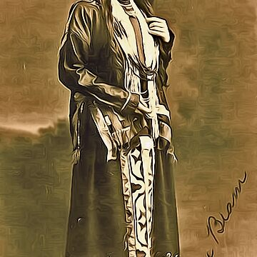 Moon Beam, a Girl of the Citizen Potawatomi Nation, Wabash River Valley, Indiana, USA 1909 by ZipaC