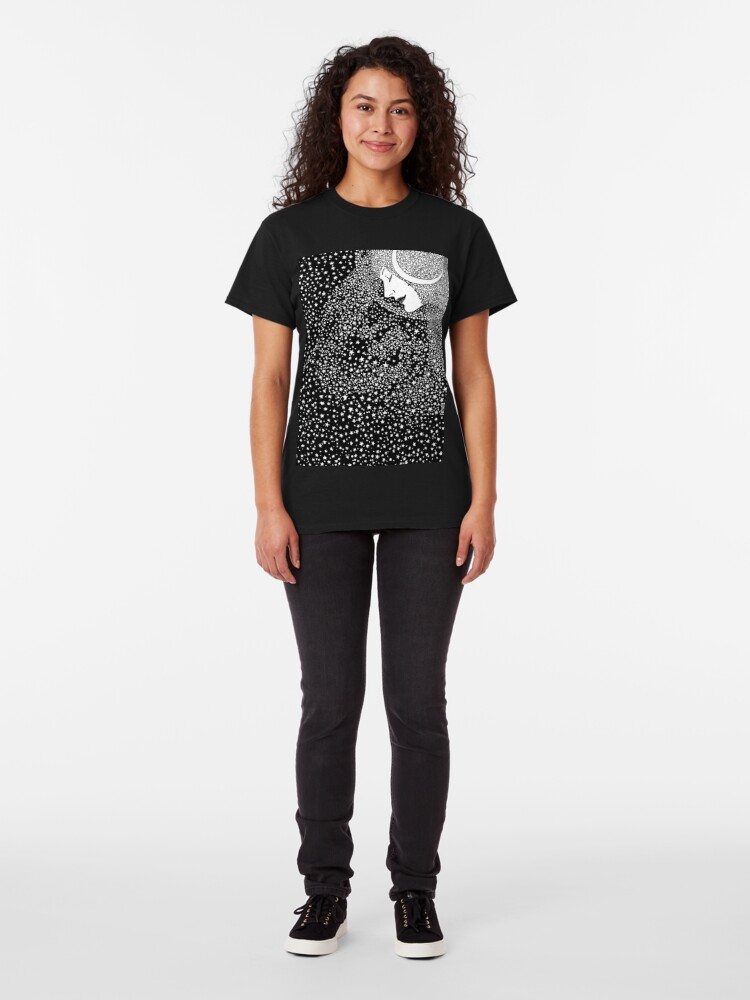 Alternate view of Lady of the Night - white Classic T-Shirt