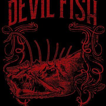 Devilfish fish by GeschenkIdee
