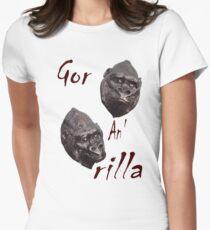 Gor an' rilla Womens Fitted T-Shirt