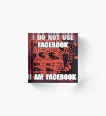 I DO NOT USE I AM 11 Acrylic Block