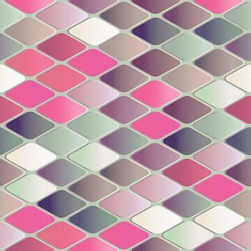 Pink Rhombus by grace-designs
