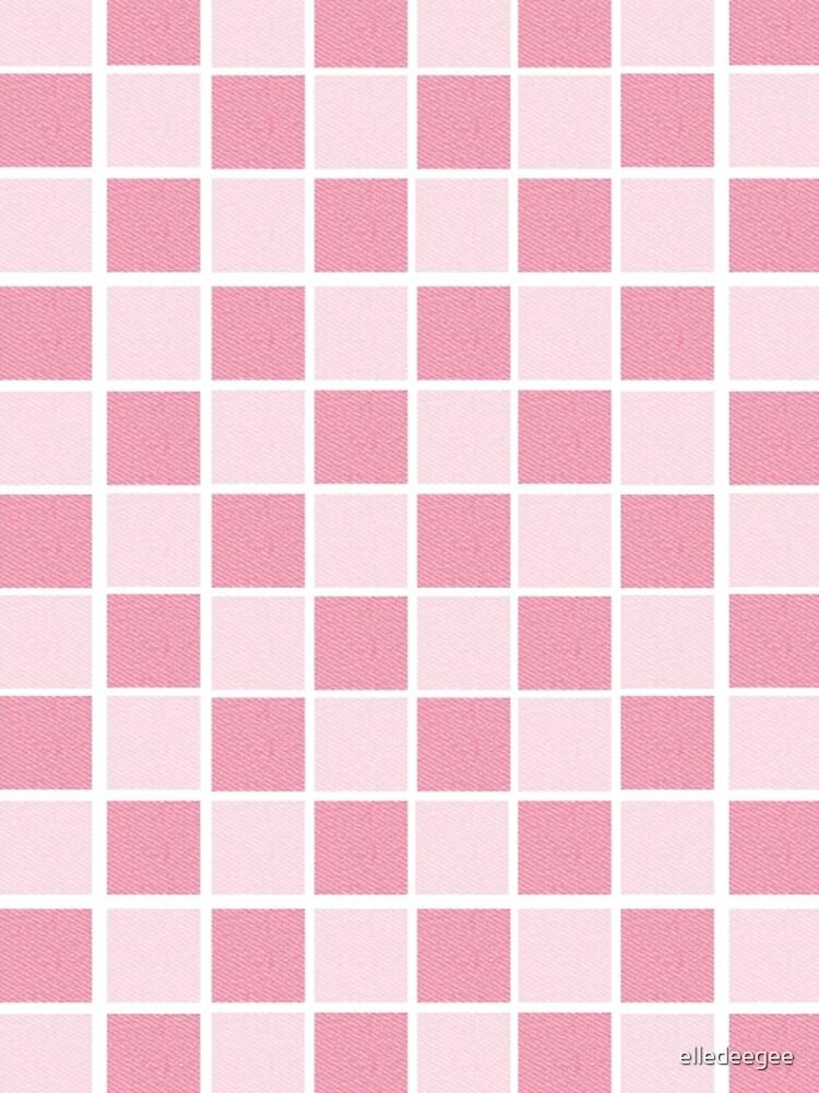 Pink checkers by elledeegee