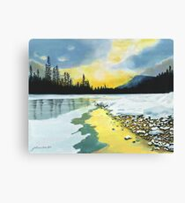 Banff Sunrise Canvas Print