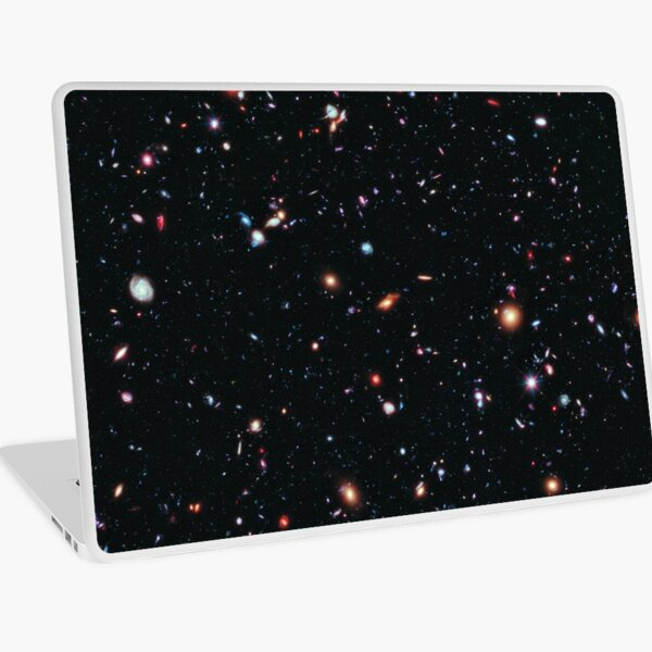 Hubble Extreme Deep Field Image of Outer Space Laptop Skin