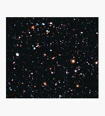 Hubble Extreme Deep Field Bild des Weltraums Fotodruck