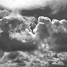 Black & White Clouds by AnnDixon