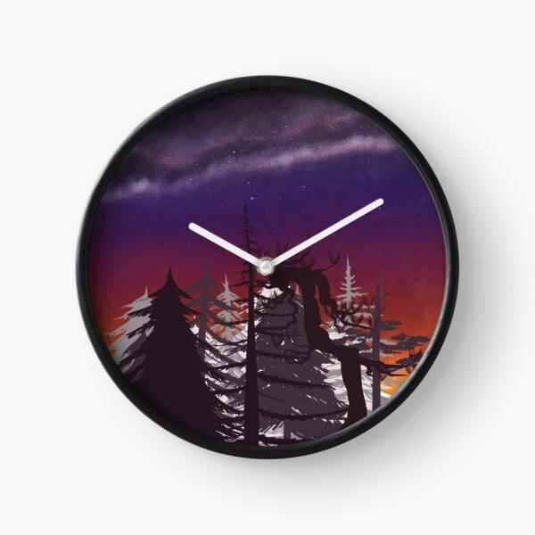 Voie lactée Horloge