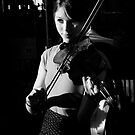 The Violinist II  by adriangeronimo