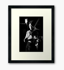 The Violinist II  Framed Print