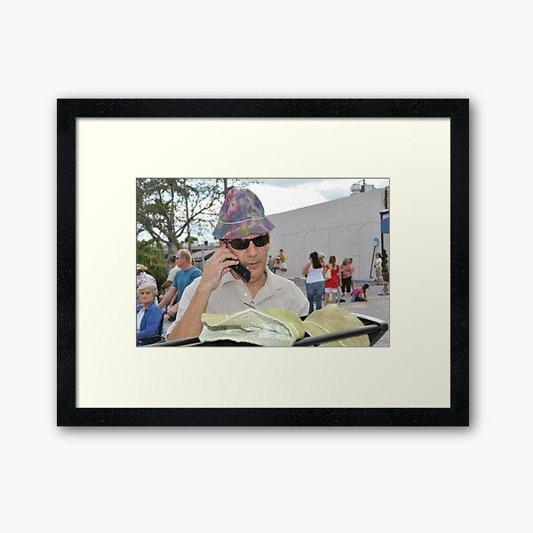 Incognito or ... Framed Art Print
