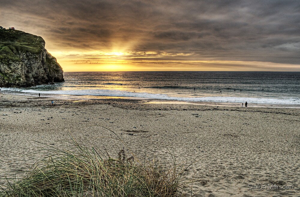 Portreath Sunset by Simon Marsden