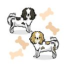 Japanese Chin Dogs by elledeegee