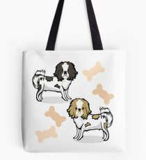 Japanese Chin Dogs Tote Bag