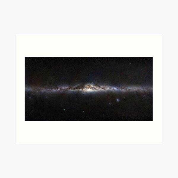 The Milky Way Galaxy Panorama  Art Print