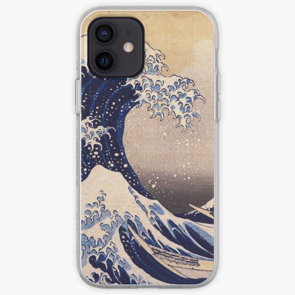 The Great Wave off Kanagawa by Katsushika Hokusai (c 1830-1833) iPhone Soft Case
