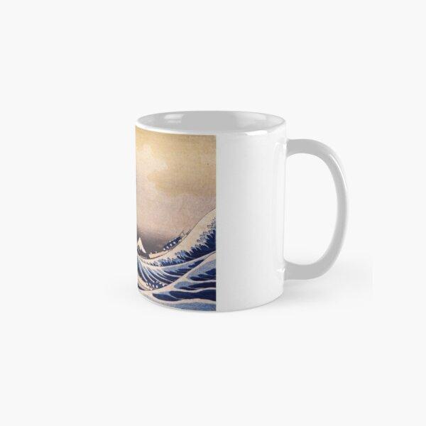 The Great Wave off Kanagawa by Katsushika Hokusai (c 1830-1833) Classic Mug