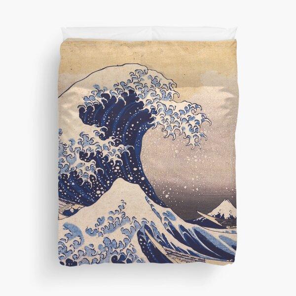 The Great Wave off Kanagawa by Katsushika Hokusai (c 1830-1833) Duvet Cover