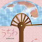 Asian Fan (uchiwa) by elledeegee