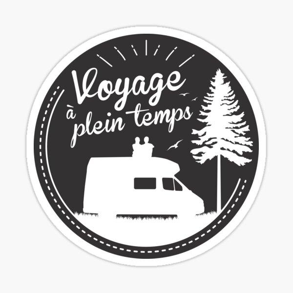 Sticker Original - Voyage à plein temps Sticker